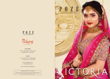 PATANG PRESENTS VICTORIA FANCY DESIGNER SAREES WHOLESALE PRICE (8) JPG