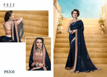 PATANG THE PEARL CHIFFON SILK AND GEORGETTE SAREE WITH BLOUSE PARTY WEAR SAREES WHOLESALE PRICE(10)JPG