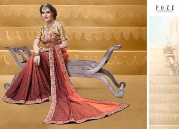 PATANG THE PEARL CHIFFON SILK AND GEORGETTE SAREE WITH BLOUSE PARTY WEAR SAREES WHOLESALE PRICE(11)JPG