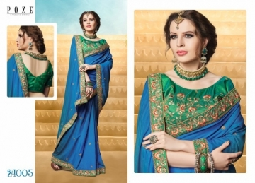 PATANG THE PEARL CHIFFON SILK AND GEORGETTE SAREE WITH BLOUSE PARTY WEAR SAREES WHOLESALE PRICE(2)JPG