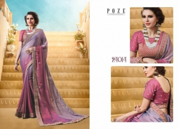 PATANG THE PEARL CHIFFON SILK AND GEORGETTE SAREE WITH BLOUSE PARTY WEAR SAREES WHOLESALE PRICE(4)JPG