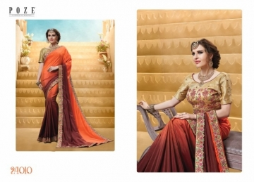 PATANG THE PEARL CHIFFON SILK AND GEORGETTE SAREE WITH BLOUSE PARTY WEAR SAREES WHOLESALE PRICE(7)JPG