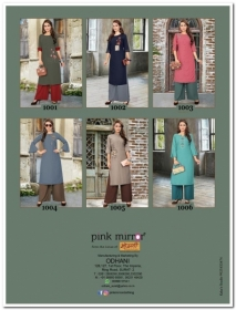 PINK MIRROR MIST COTTON MUSLIN WITH EMBROIDERY KURTI AND BOTTOM (2) JPG