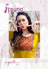 PSYNA PARI VOL-3 EMBROIDERY SHORT STRAIGHT KURTI WHOLESALE PRICE (12) JPG