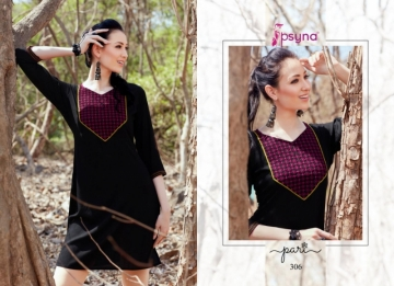 PSYNA PARI VOL-3 EMBROIDERY SHORT STRAIGHT KURTI WHOLESALE PRICE (7) JPG