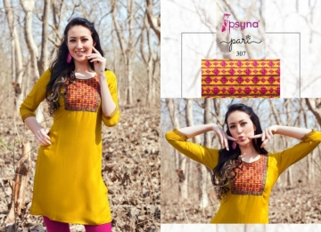PSYNA PARI VOL-3 EMBROIDERY SHORT STRAIGHT KURTI WHOLESALE PRICE (8) JPG