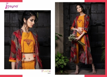 Psyna-Launching-Porche-Vol-3-Shrug-Catalogue-With-Different-Bottoms-Palazzo-Pant-Skirt-Collection-7