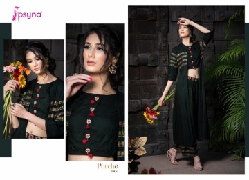 Psyna-Launching-Porche-Vol-3-Shrug-Catalogue-With-Different-Bottoms-Palazzo-Pant-Skirt-Collection-4