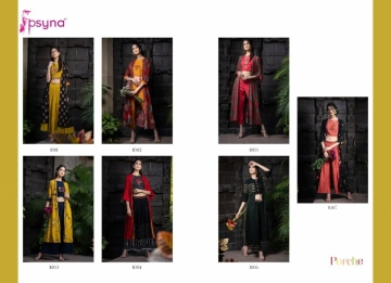 Psyna-Launching-Porche-Vol-3-Shrug-Catalogue-With-Different-Bottoms-Palazzo-Pant-Skirt-Collection-6