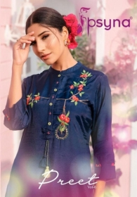 PSYNA PRESENTS PREET VOL-6 VISCOSE SILK KURTI WITH BOTTOM (01) JPG