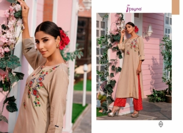 PSYNA PRESENTS PREET VOL-6 VISCOSE SILK KURTI WITH BOTTOM (12) JPG
