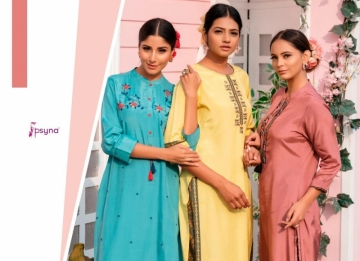 PSYNA PRESENTS PREET VOL-6 VISCOSE SILK KURTI WITH BOTTOM (13) JPG