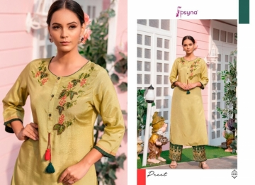 PSYNA PRESENTS PREET VOL-6 VISCOSE SILK KURTI WITH BOTTOM (7) JPG