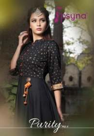 PSYNA PRESENTS PURITY VOL-3 RAYON PRINTED GOWN STYLE KURTI (3) JPG