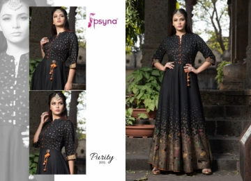 PSYNA PRESENTS PURITY VOL-3 RAYON PRINTED GOWN STYLE KURTI (9) JPG