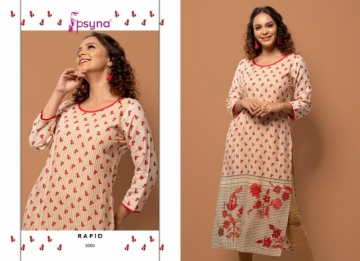 PSYNA PRESENTS RAPID VOL-03 RAYON PRINTED CASUAL WEAR KURTI (01) JPG