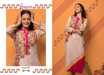PSYNA PRESENTS RAPID VOL-03 RAYON PRINTED CASUAL WEAR KURTI (11) JPG