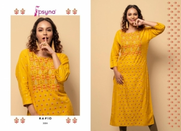 PSYNA PRESENTS RAPID VOL-03 RAYON PRINTED CASUAL WEAR KURTI (4) JPG
