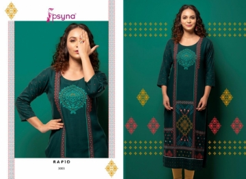 PSYNA PRESENTS RAPID VOL-03 RAYON PRINTED CASUAL WEAR KURTI (5) JPG