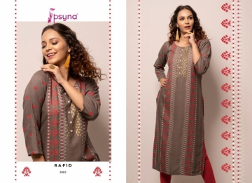 PSYNA PRESENTS RAPID VOL-03 RAYON PRINTED CASUAL WEAR KURTI (6) JPG