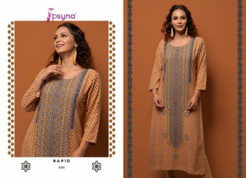 PSYNA PRESENTS RAPID VOL-03 RAYON PRINTED CASUAL WEAR KURTI (8) JPG