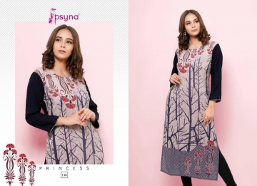PSYNA PRINCESS VOL-13 RAYON KURTIS WHOLESALE PRICE (13)JPG