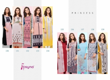 PSYNA PRINCESS VOL-13 RAYON KURTIS WHOLESALE PRICE (1)JPG