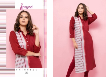 PSYNA PRINCESS VOL-13 RAYON KURTIS WHOLESALE PRICE (6)JPG