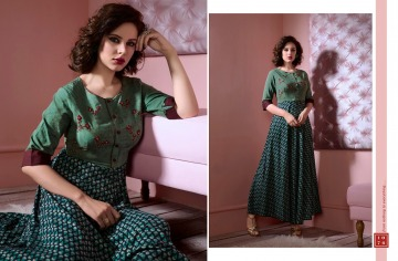 RANGOON TAAPSY PANNU VOL 4 WESTERN COTTON GOWN WHOLESALE PRICE (7) JPG