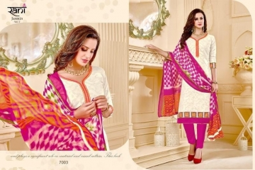 RANI FASHION JASMINE VOL 7 COTTON JAQUART SALWAR SUITS WHOLESALE SUPPLIER SURAT(4) JPG