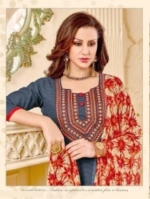 RANI FASHION JASMINE VOL 7 COTTON JAQUART SALWAR SUITS WHOLESALE SUPPLIER SURAT(7) JPG - Copy
