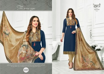 RANI FASHION SPANISH VOL -3 ROYAL SILK SALWAR KAMEEZ WHOLESALE PRICE (2) JPG