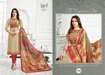 RANI FASHION SPANISH VOL -3 ROYAL SILK SALWAR KAMEEZ WHOLESALE PRICE (5) JPG