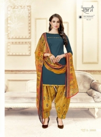 RANI SUNDAY PATIYALA VOL-22 SALWAR SUIT D. 22005