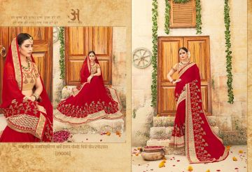 RATI SAREES SUHANI HEAVY EMBROIDERY SAREES WHOLESALE SUPPLIER SURAT (1)JPG