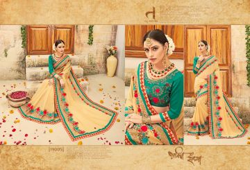 RATI SAREES SUHANI HEAVY EMBROIDERY SAREES WHOLESALE SUPPLIER SURAT (2)JPG