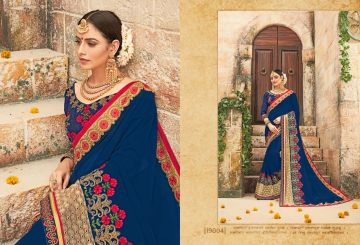 RATI SAREES SUHANI HEAVY EMBROIDERY SAREES WHOLESALE SUPPLIER SURAT (3)JPG