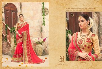 RATI SAREES SUHANI HEAVY EMBROIDERY SAREES WHOLESALE SUPPLIER SURAT (4)JPG