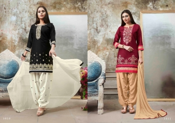S-MORE FASHION PATIYALA ZONE REYON PATIYALA SUITS WHOLESALE PRICE (5) JPG