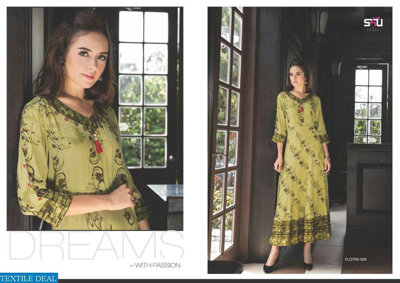 Tirupati Wholesale S4U FLORA VOL-6 RAYON GOWNS WHOLESALE SUPPLIER ...