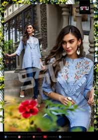 S4U-Forever-Young-Vol-3-Designer-Short-Kurti-Collection-Of-Shivali-1