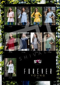 S4U-Forever-Young-Vol-3-Designer-Short-Kurti-Collection-Of-Shivali-10