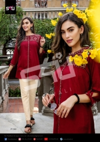 S4U-Forever-Young-Vol-3-Designer-Short-Kurti-Collection-Of-Shivali-3