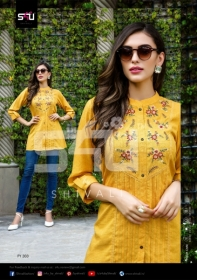 S4U-Forever-Young-Vol-3-Designer-Short-Kurti-Collection-Of-Shivali-5