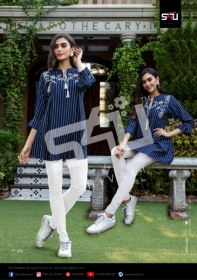 S4U-Forever-Young-Vol-3-Designer-Short-Kurti-Collection-Of-Shivali-9