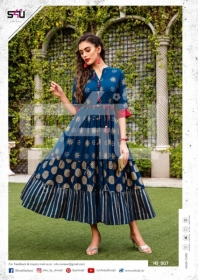 S4u-Hello-Spring-2019-Simple-And-Beautiful-Floral-Print-Kurtis-Wholesaler-In-Surat-4