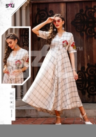S4u-Hello-Spring-2019-Simple-And-Beautiful-Floral-Print-Kurtis-Wholesaler-In-Surat-8
