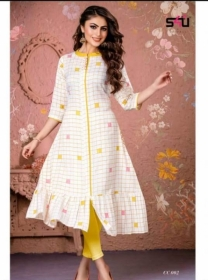 S4U-Cotton-Candy-kurti - CC 002