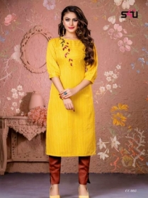 S4U-Cotton-Candy-kurti - CC 003