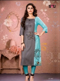 S4U-Cotton-Candy-kurti - CC 004
